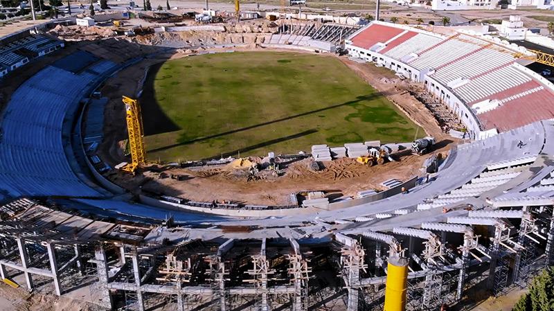 Jenayah: Reprise des travaux au stade olympique de Sousse après l'Aïd