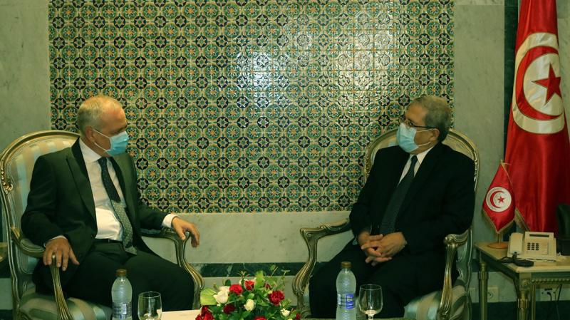 Jerandi reçoit le nouvel ambassadeur de Malte à Tunis