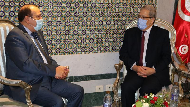 Jerandi s'entretient avec l'ambassadeur d'Arabie Saoudite