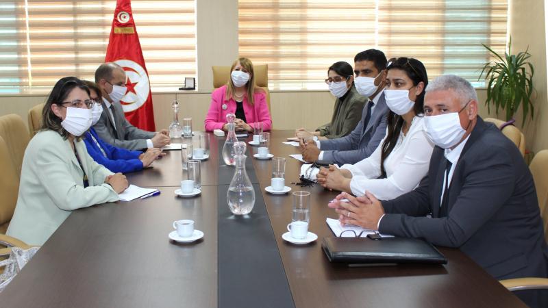 Jribi rencontre des membres du bureau exécutif de l'AMT
