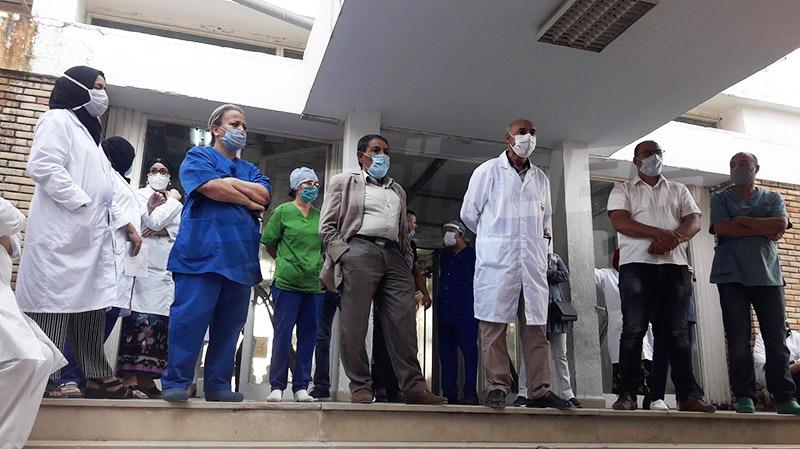 Kairouan: Le staff médical et paramédical en colère