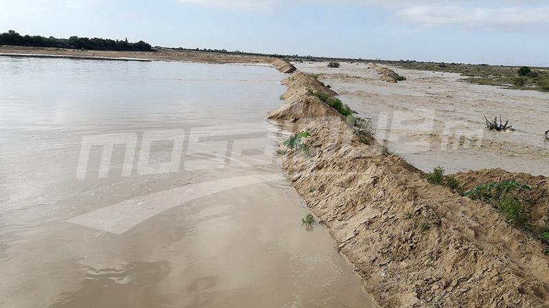 kairouan: quantité record dans le barrage Sidi Saad