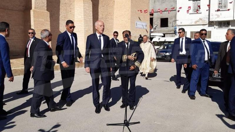 Kairouan:  Saied tient une réunion avant la prière du vendredi