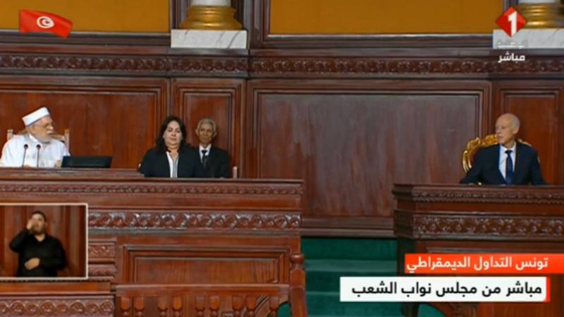 Kaïs Saïed, Abdelfattah Mourou