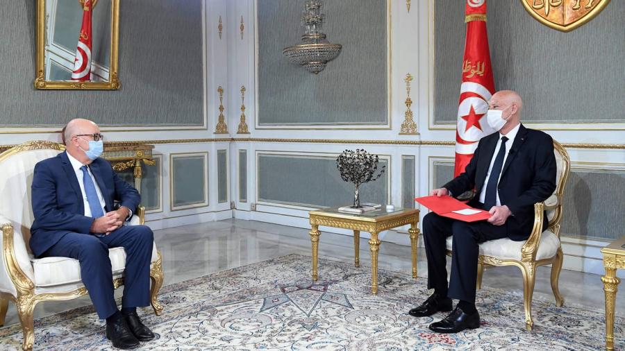 Kaïs Saïed, Marouene Abassi