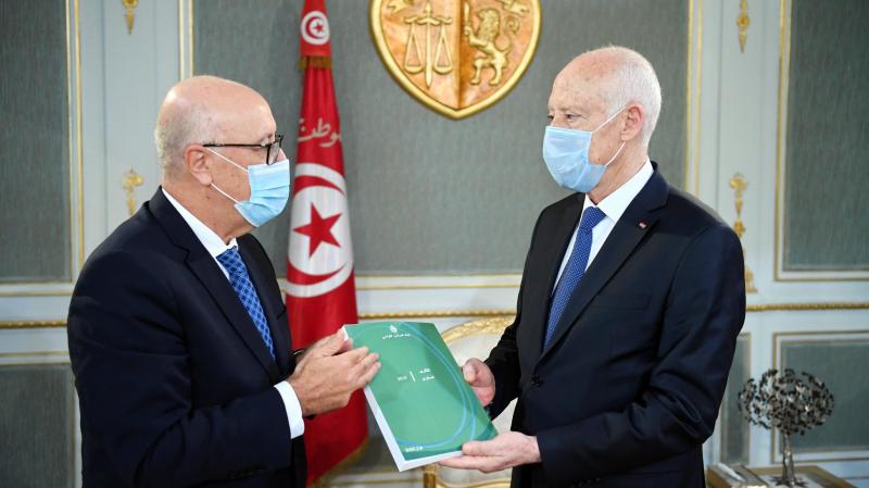 Kais Saied reçoit le gouverneur de la BCT