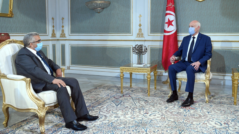 Kaïs Saïed reçoit le ministre de la Justice