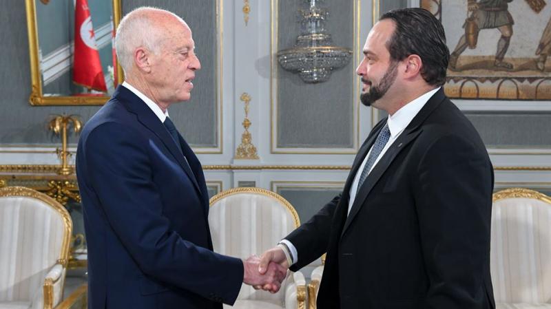 Kais Saied reçoit le vice-président du Parlement européen