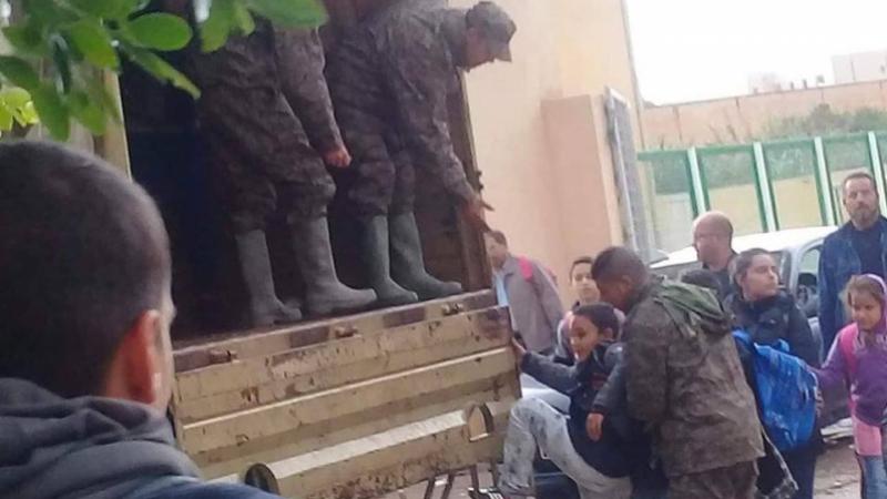 Kasserine : Intervention de l'armée pour évacuer les élèves