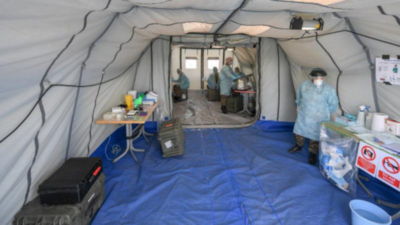 Kasserine : Mise en place d'un laboratoire mobile d'analyses microbien