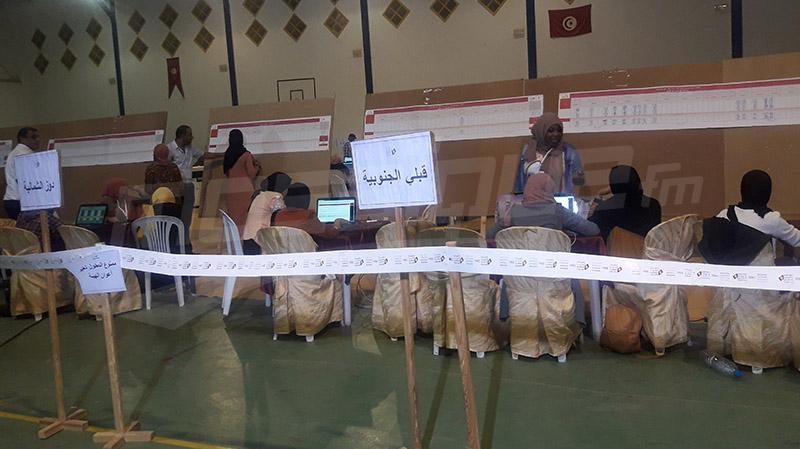 Kebili:  résultats partiels de la présidentielle