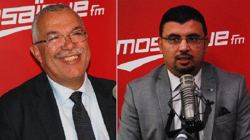 Khaled Chouket, Noureddine Bhiri