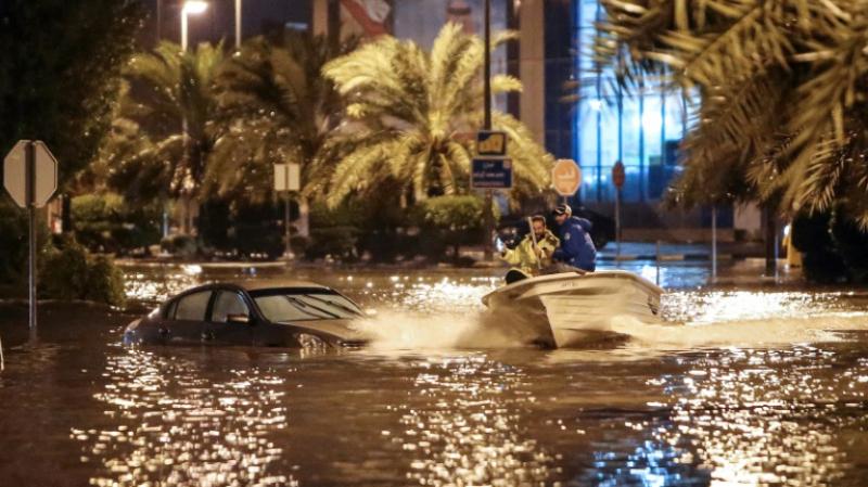Koweït inondée