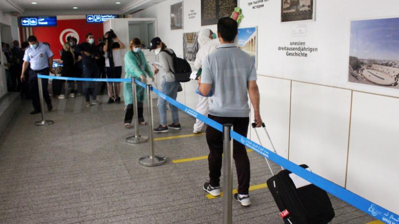 L'aéroport Tunis Carthage accueille 3256 voyageurs en trois jours