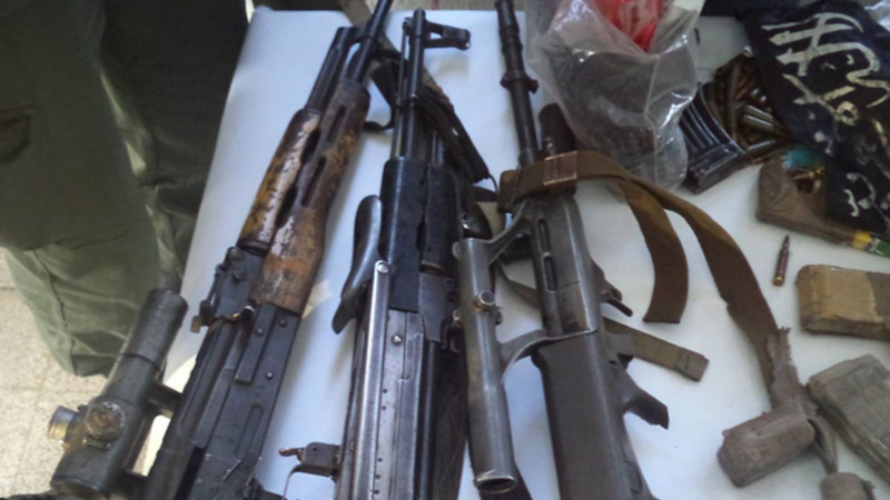 L'arsenal des 2 terroristes tués à Ben Guerdane