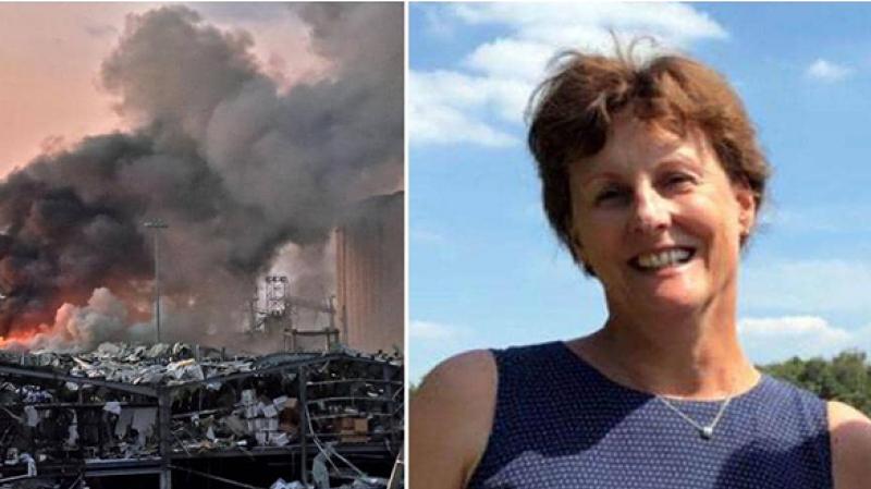 L'épouse de l'ambassadeur des Pays-Bas à Beyrouth Jan Waltmans