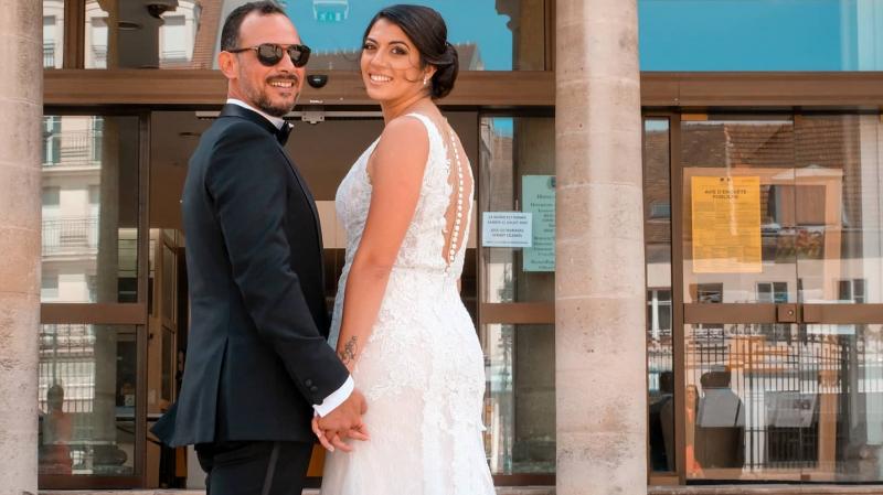 L'escrimeuse tunisienne, Azza Besbes, se marie