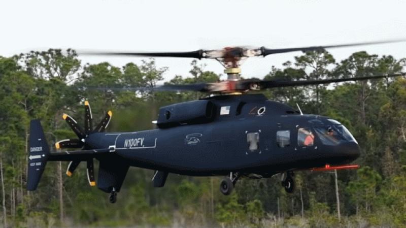 L'hélicoptère du futur effectue son premier vol
