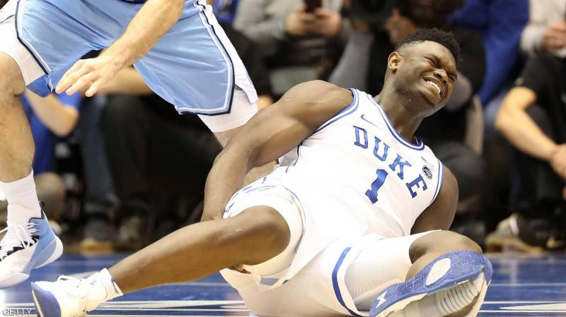 L'image de Nike affectée par la blessure d'une future star du basket