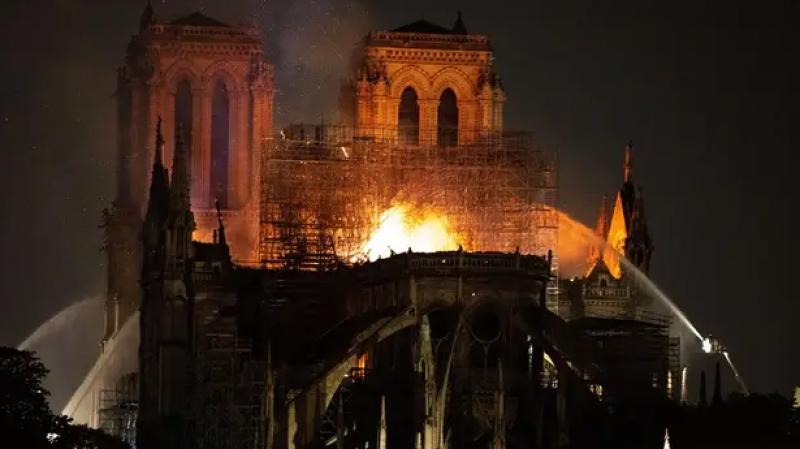 L'incendie de Notre-Dame de Paris en minisérie