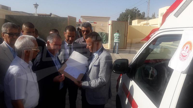 L'UGTT fait don d'une ambulance à l'hôpital régional de Tozeur
