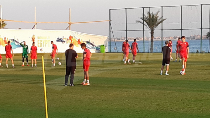 La formation rentrante de l'équipe nationale face au Ghana