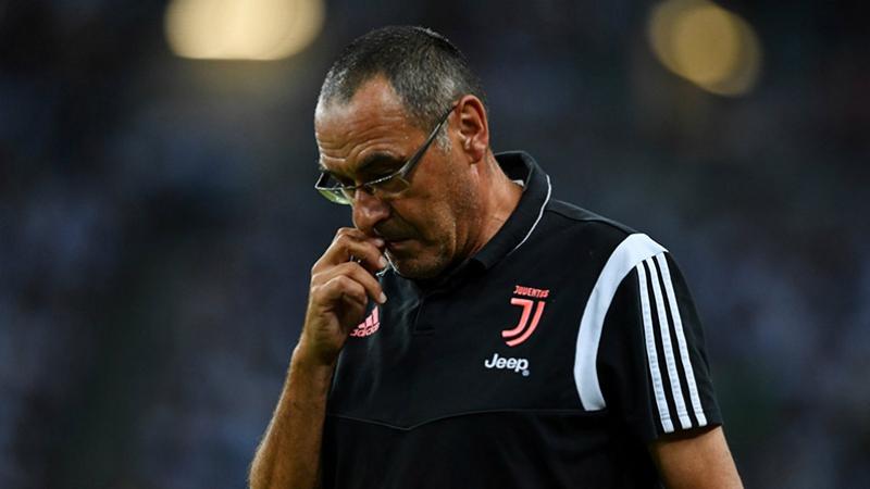 La Juventus met fin à l'expérience Sarri