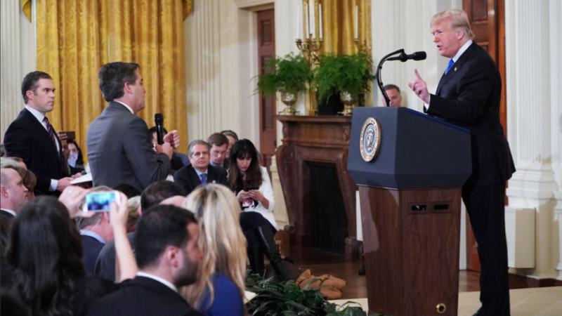 La Maison Blanche contrainte de rétablir l'accréditation de la CNN