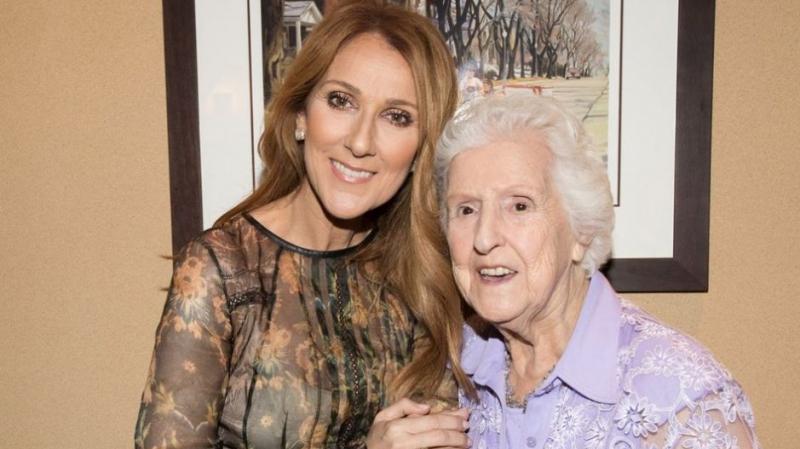 La mère de Céline Dion n'est plus