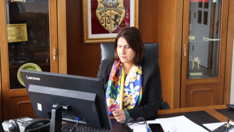 La ministre de la femme porte parole du gouvernement