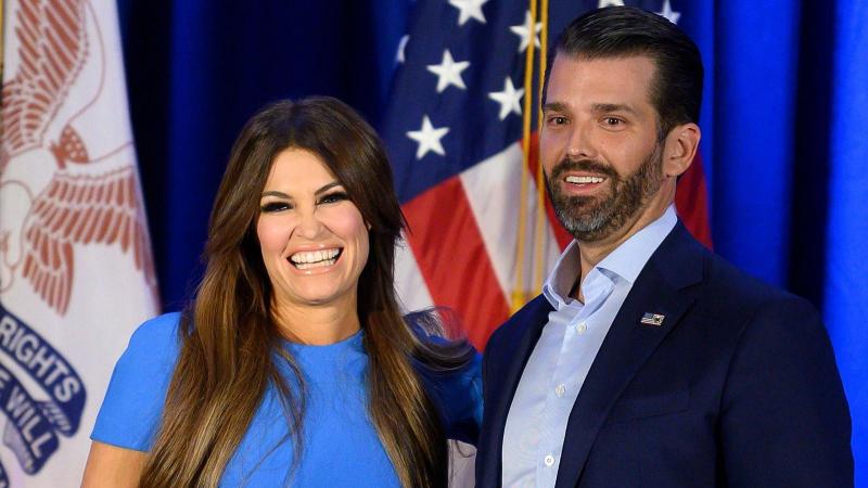 La petite amie de Donald Trump junior testée positive au coronavirus