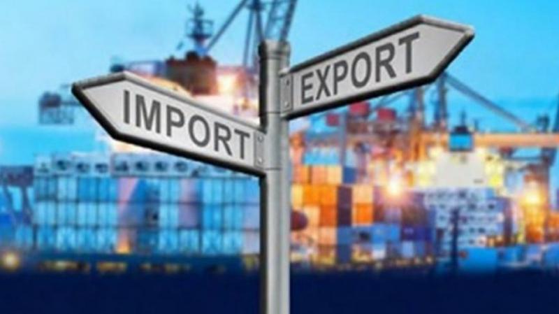 La plus forte baisse des exportations