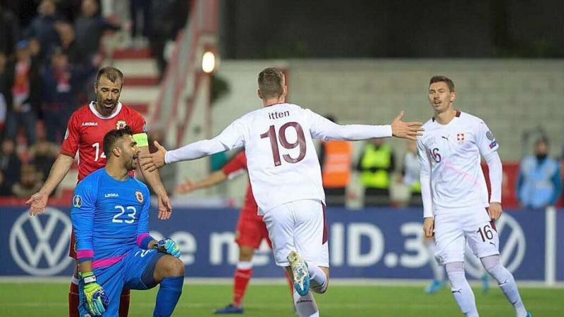 La Suisse et le Danemark qualifiés pour l'Euro-2020