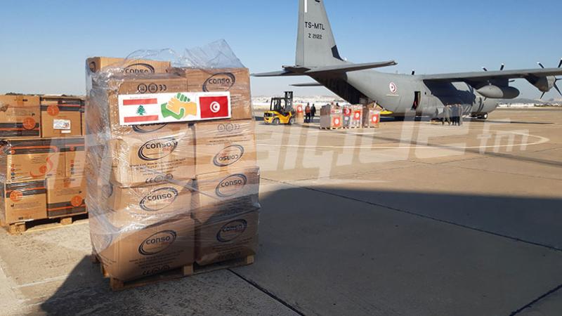 La Tunisie envoie des aides au Liban