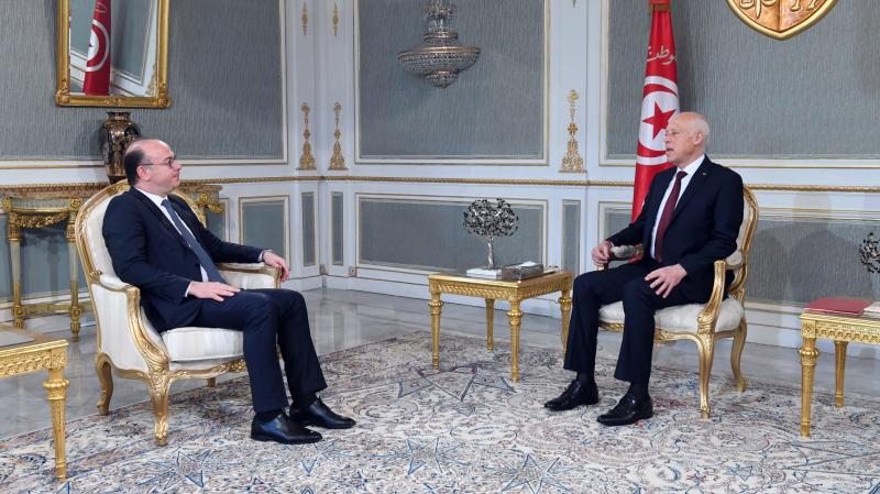 Le chef de l'Etat reçoit Elyes Fakhfakh