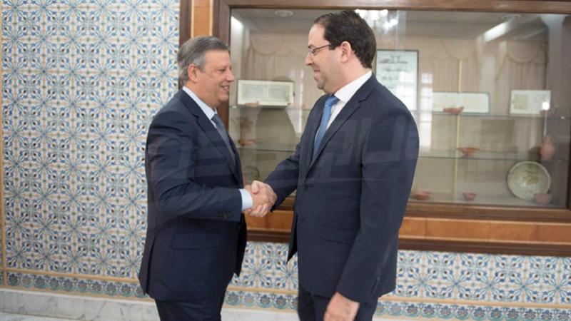Le chef du gouvernement reçoit Hamdi Meddeb au Palais de la Kasbah