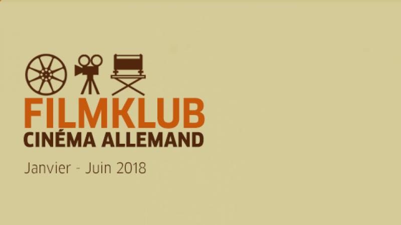 Le FILMKLUB cinéma allemand : de janvier jusqu'en juin 2018 à Tunis