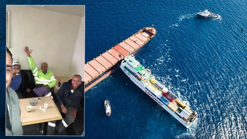Le navire Ulysse a mis le cap sur un port tunisien