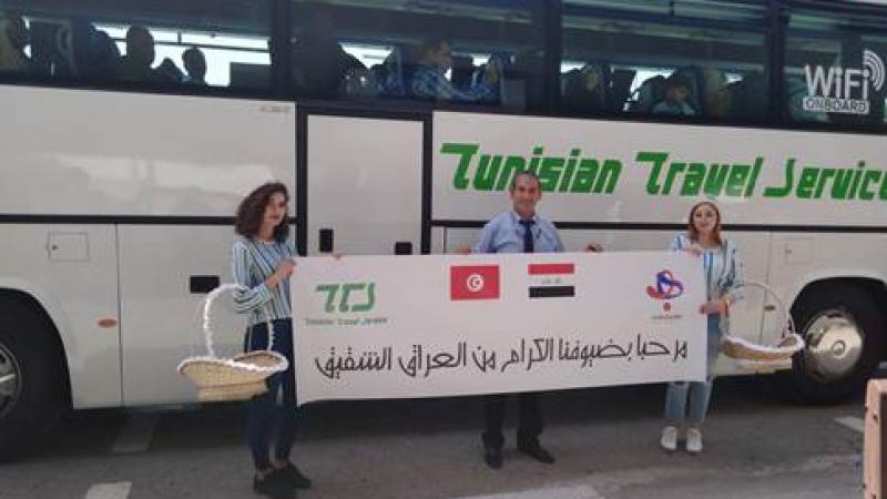 Le premier vol charter depuis 28 ans:128 touristes irakiens en Tunisie