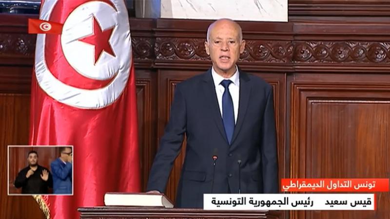 Le président de la République Kais Saied  prête serment