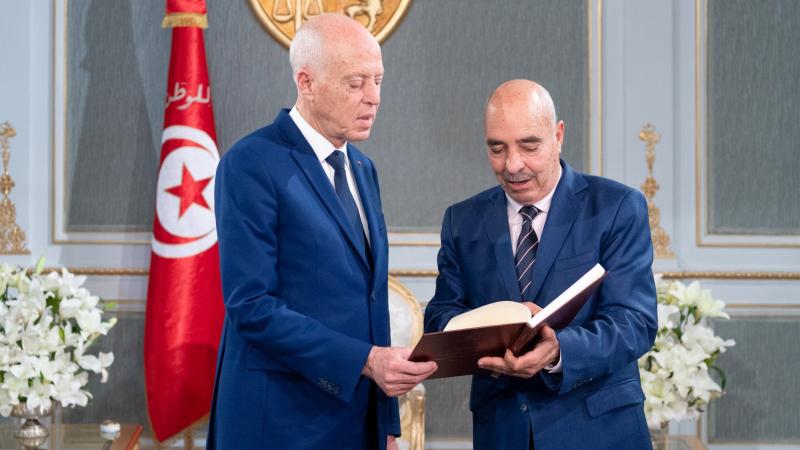 le président de la République reçoit le Médiateur administratif