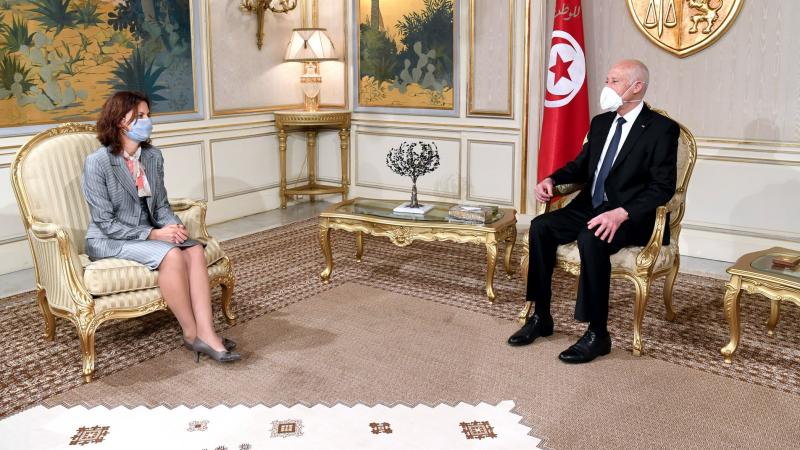 Le président Saïed reçoit l'ambassadeur de Bulgarie