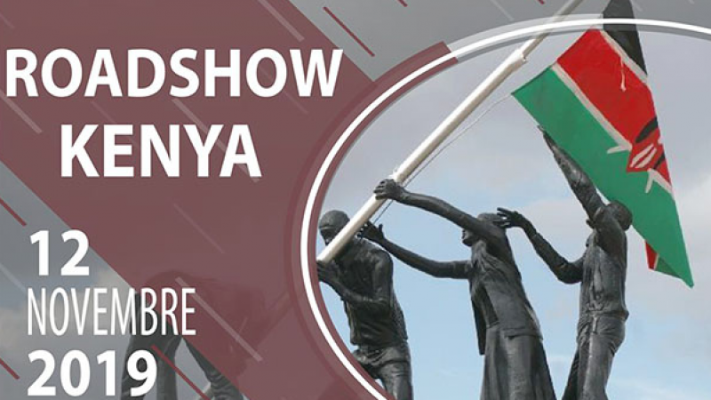 Le Road show Kenya se tiendra le 12 novembre