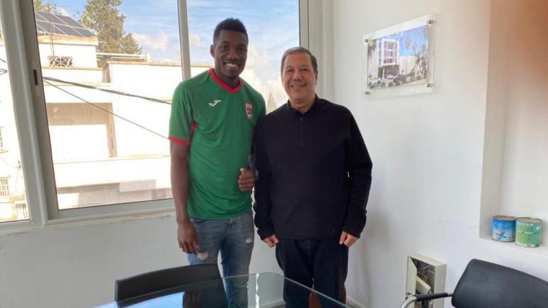 Le ST signe avec le Congolais Jacques Medina Thémépolé