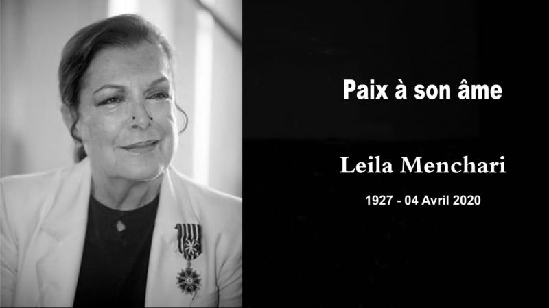 Leila Menchari n'est plus