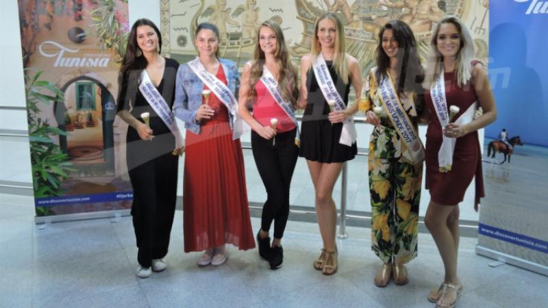 Les candidates de Miss France tombent sous le charme de Djerba