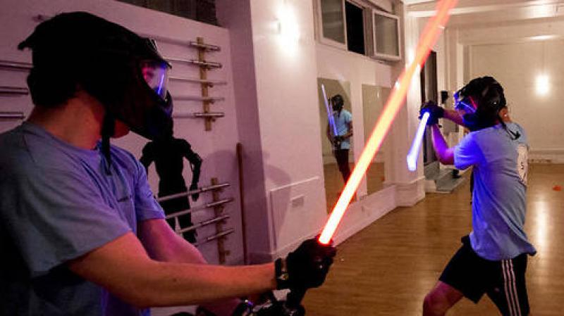 Les combats de sabre au laser, un sport reconnu