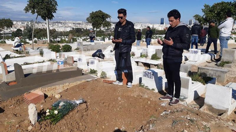 Les funérailles de Adem Boulifa