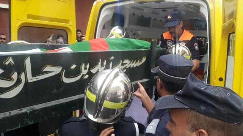 Les funérailles de Rachid Taha