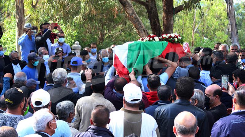 Les Funérailles du syndicaliste Bouali Mbarki